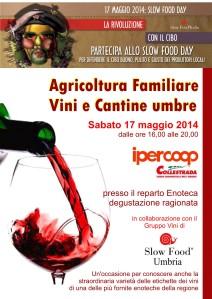 Slow Food Day 2014 Ipercoop Collestrada