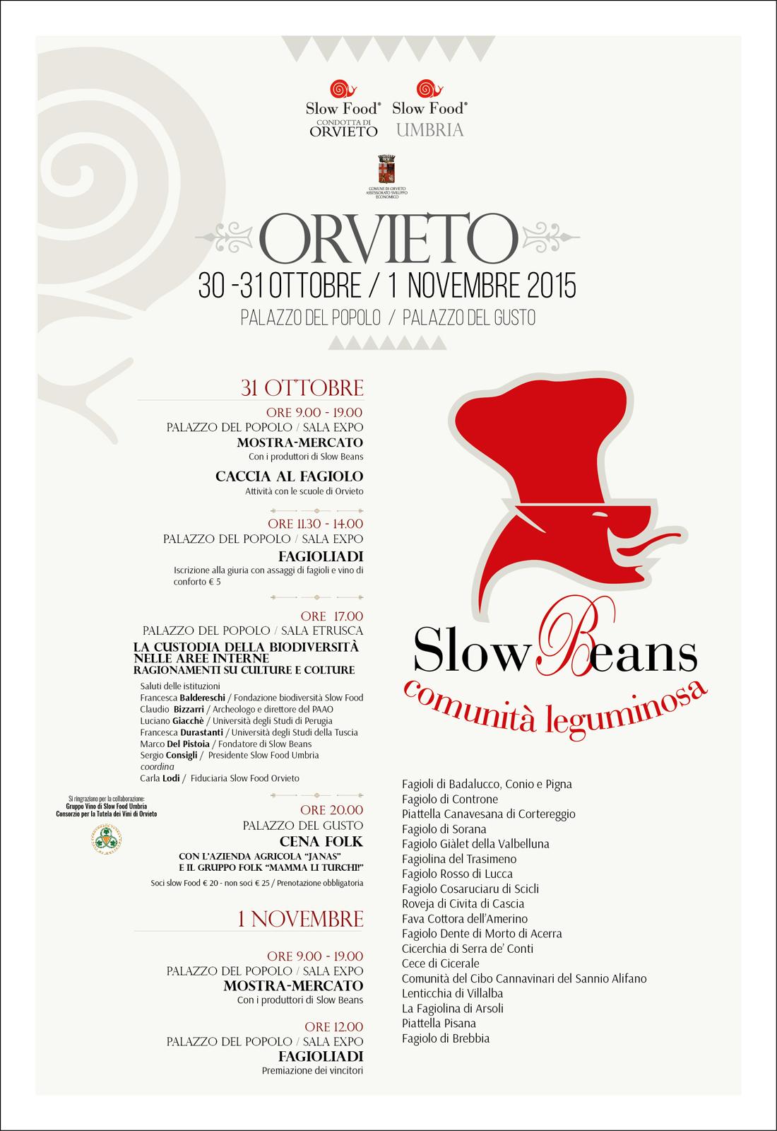 Slow Beans Orvieto 2015